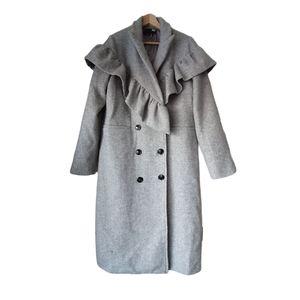 English Factory Wolle suit jacket, Medium Grey